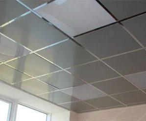 Что такое металлический подвесной потолок, монтаж, порядок работ!