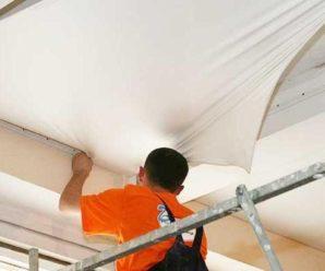 Установка натяжных потолков своими руками: подготовка, комплектующие.