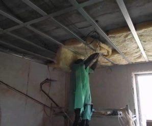 Акустические подвесные потолки, правильная установка и уход.