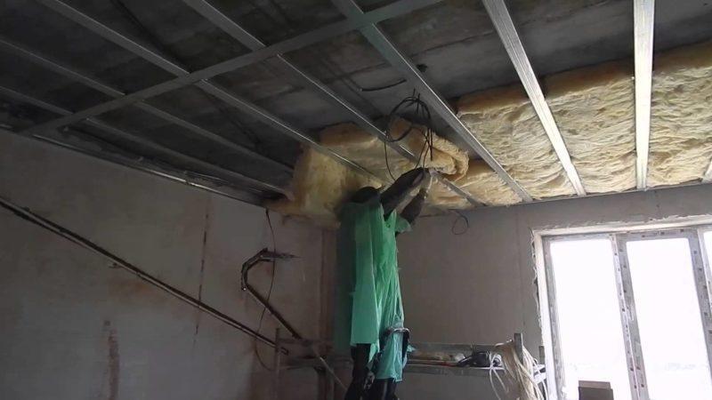 Подвесные потолки со звукоизоляцией