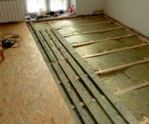Как перестелить пол деревянный своими руками?