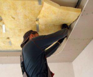 Звукоизоляция потолка, подготовительный этап, конструкция, монтаж!