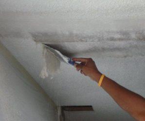 Правильное удаление старых обоев с потолка, обучающее видео.