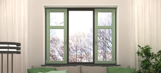 цветные окна в интерьере фото