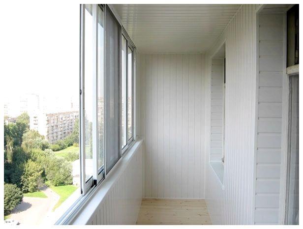 Холодное застекление балконов и лоджий