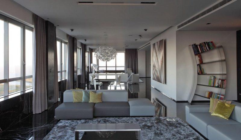 стиль модерн в интерьере квартиры фото