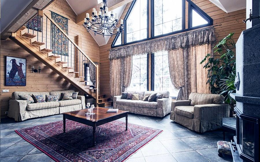 Гобелен в современным стиле интерьера дома