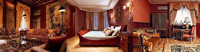 Гобелен в современным стиле интерьера квартиры