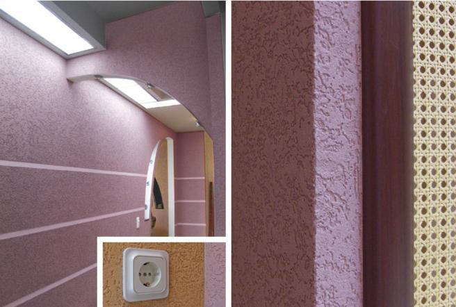 Латексные краски в фото интерьере