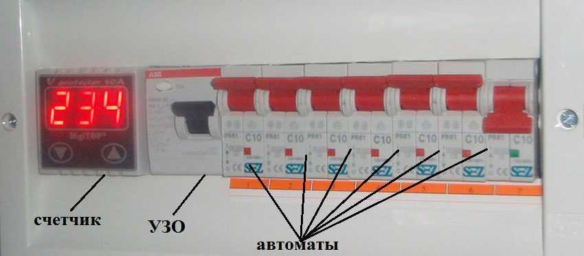 коробка автомат для электропроводки