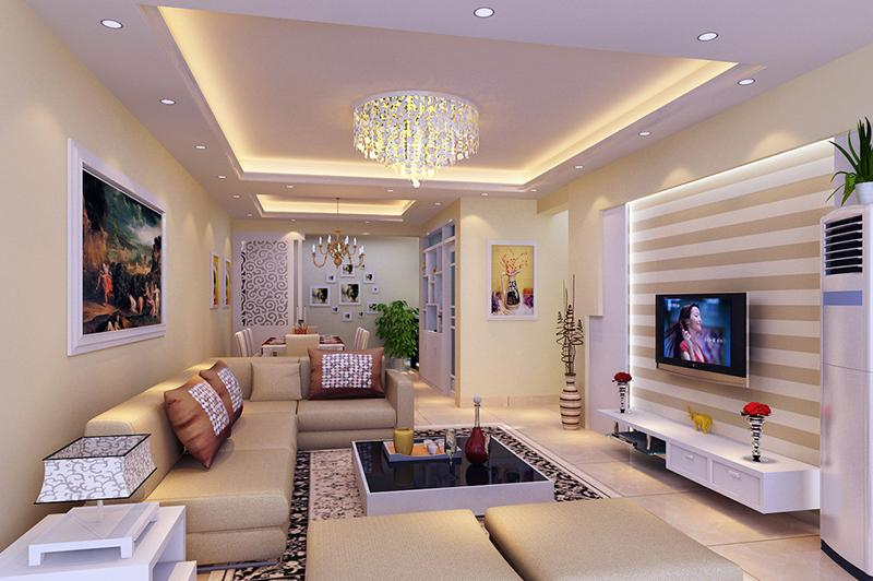 Фото подвесного потолка и интерьере квартиры