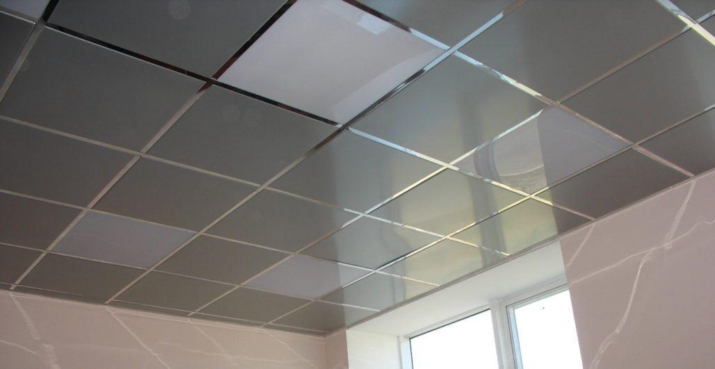 Фото кассетного подвесного потолка