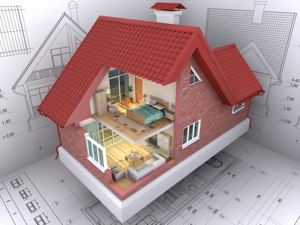 Дизайн проект внутренних помещенный