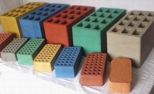 Разные строительные шлакоблоки