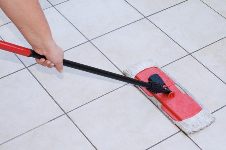 Уход за керамической плиткой на кухне