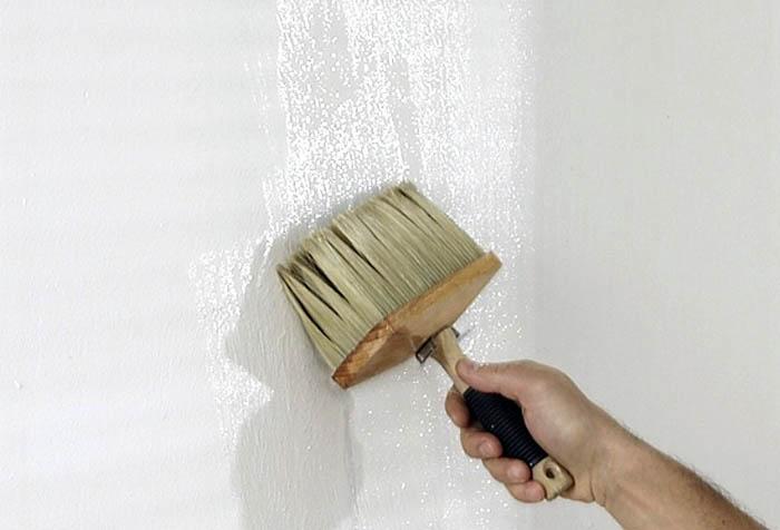 Как делать грунтование стен