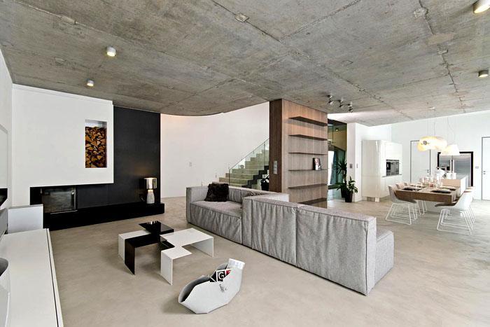 Утепление бетонного потолка изнутри и снаружи