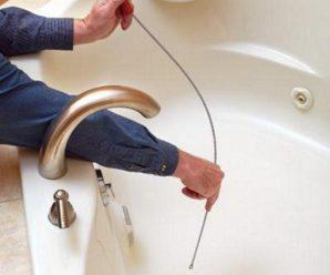 Как устранить засор в ванной в домашних условиях? Самые быстрые способы.
