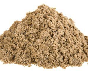 Виды и вес песка строительного — Таблица.