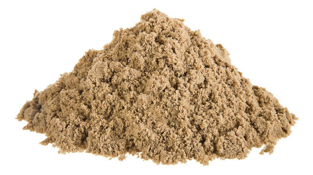 Масса речного песка
