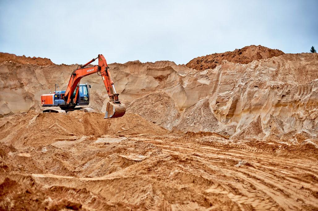 Вес карьерного песка