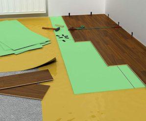 Какую подложку выбрать под ламинат на бетонный пол?