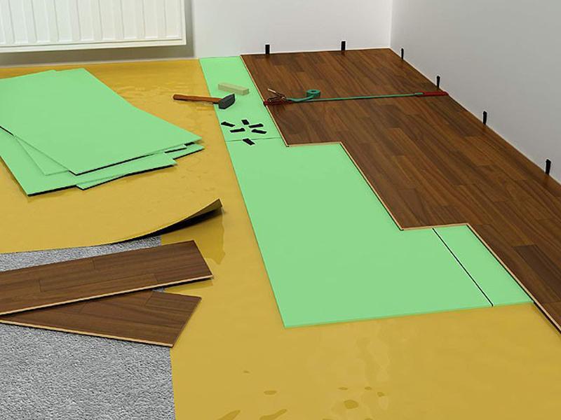 Выбор подложки под бетонный пол