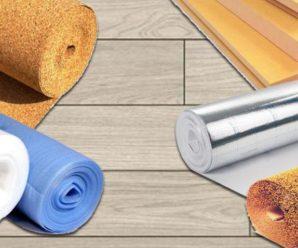 Какой толщины должна быть подложка под ламинат?