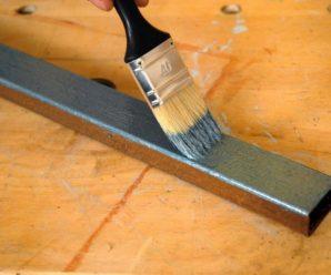 Какой расход краски на 1м2 по металлу — расчет!