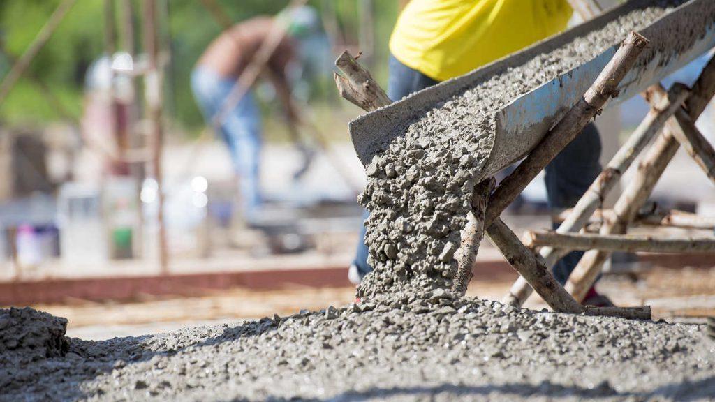 Расход цемента на бетон.