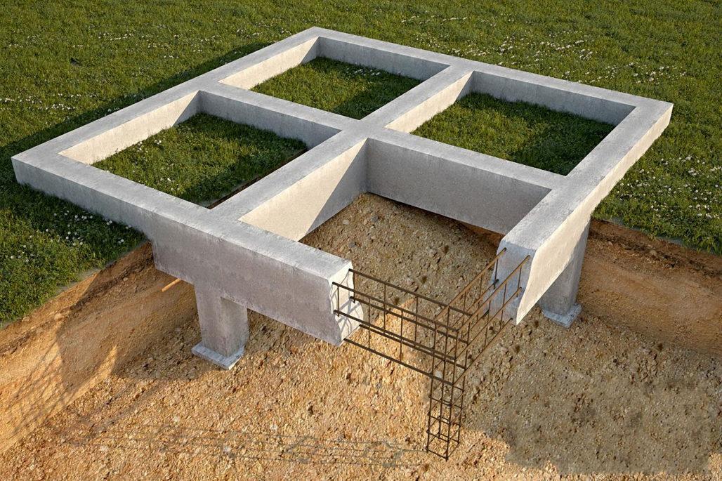 Расчет бетона для фундамента.