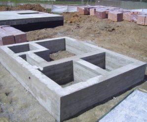 Сколько надо бетона на фундамент дома — ленточный, монолитный, столбчатый.