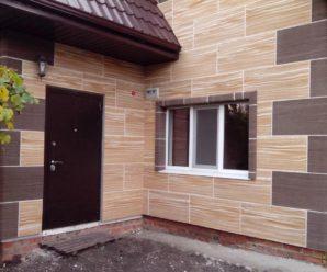 Фасадные утепленные панели для наружной отделки дома.
