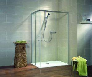 Душевая перегородка из стекла для ванной — производство, практичность.