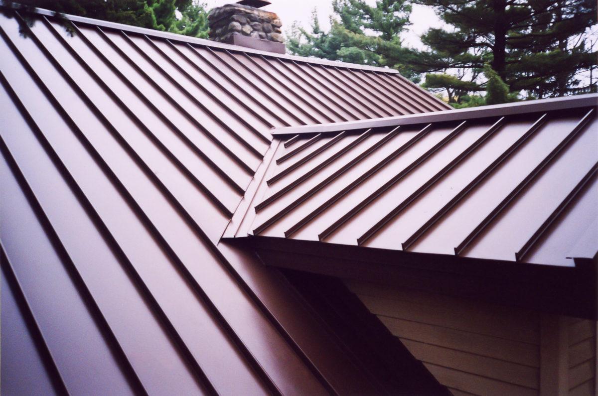 металл на крышу