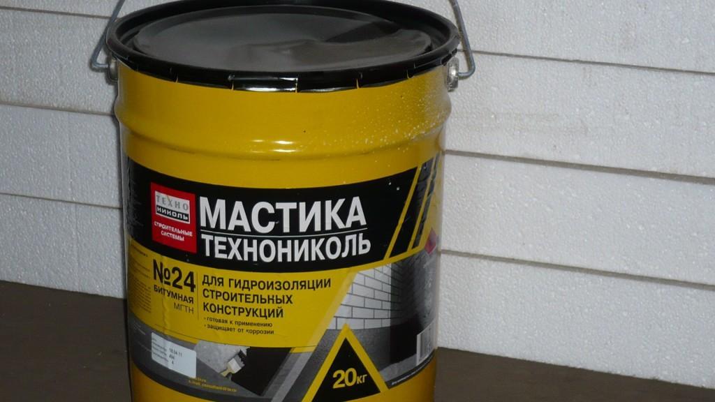 Расход мастики гидроизоляционной ТехноНИКОЛЬ 24