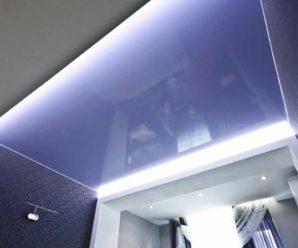 Натяжные потолки: виды материалов и особенности оформления!