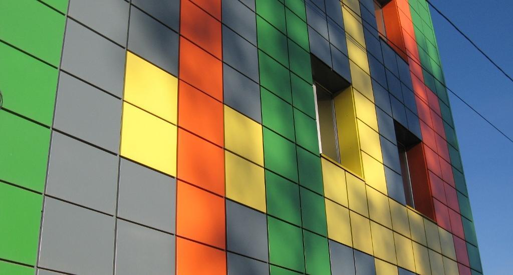 Технологичный кассетный фасад
