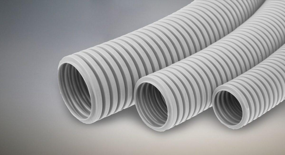 диаметр гофрированной трубы