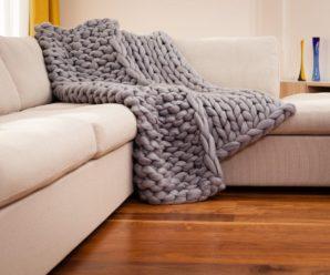 Зимние вечера с уютом: какой плед выбрать на диван?