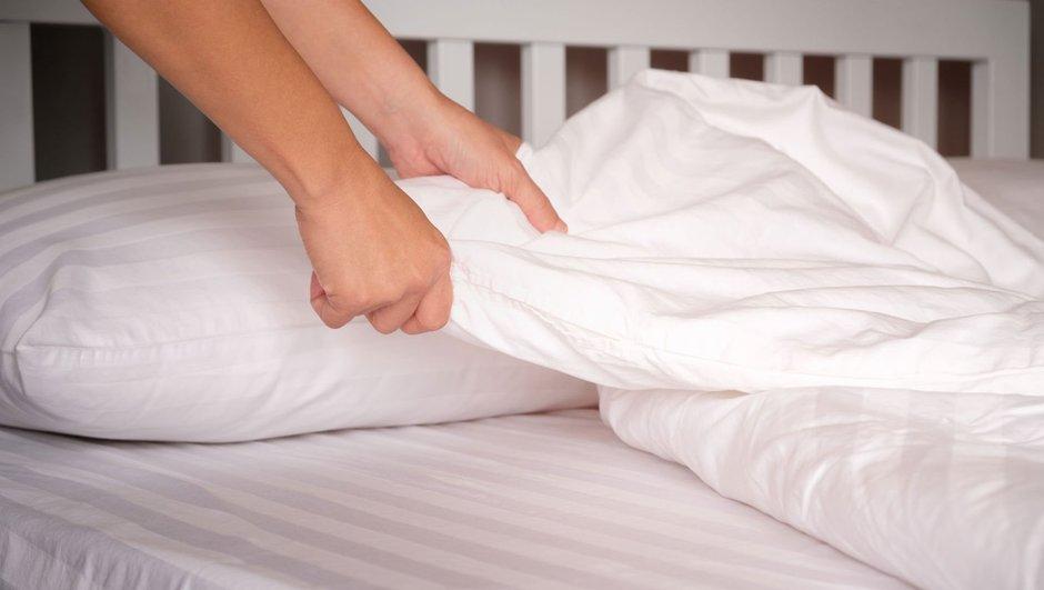 Замена постельного белья.