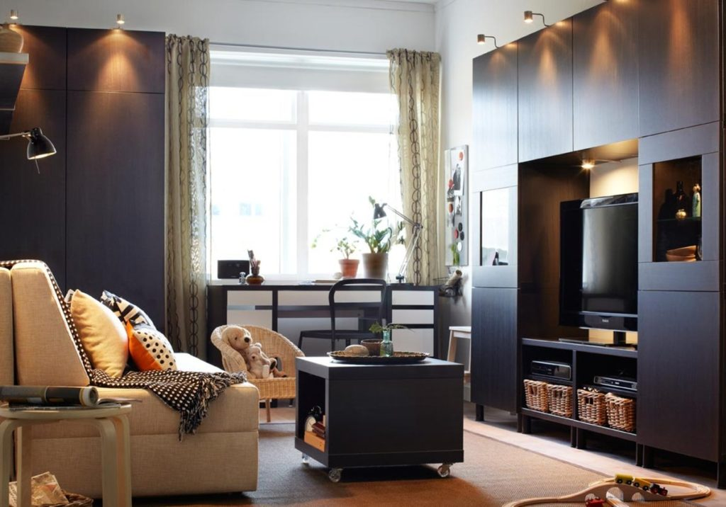 Квартира с мебелью.