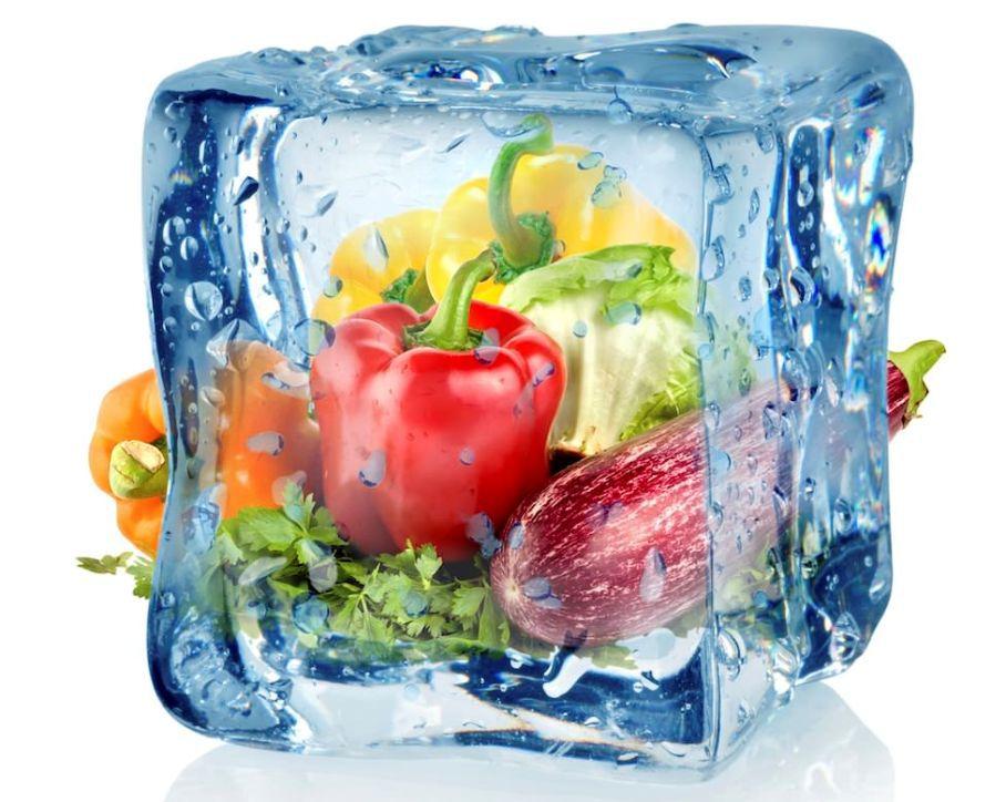 Замороженные продукты.
