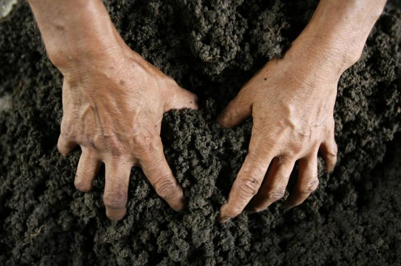 Самозахват земли.