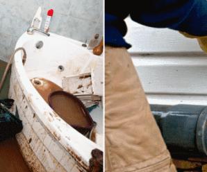 Как в туалете устранить неприятный запах канализации!