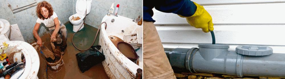 Выявления и устранения неприятного запаха канализации в туалете!