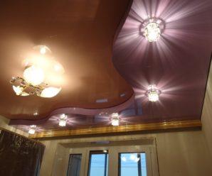 Современные натяжные потолки: функциональность, надежность, эстетика.