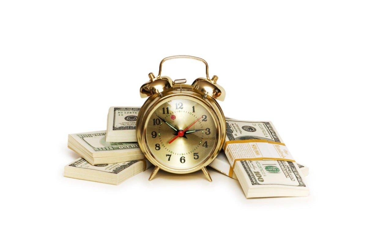 Время для сплаты кредита.