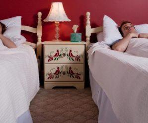 Психологи советуют: супруги должны спать отдельно.