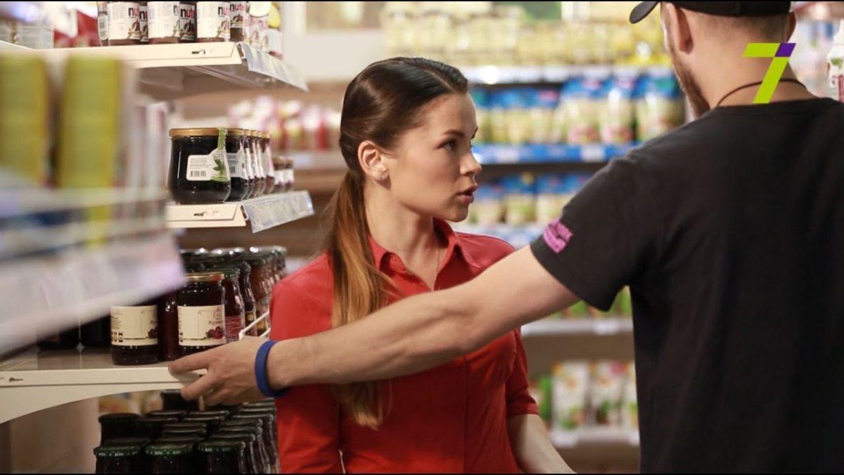 Твои права если разбил товар в магазине.